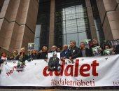 صور.. صحفيون أتراك يتظاهرون تضامنا مع زميل مسجون منذ 500 يوم