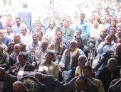 انطلاق مؤتمر شعبى حاشد بالعياط لدعم السيسي فى الانتخابات الرئاسية