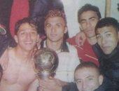 شاهد.. احتفال نجوم الأهلى بدورى أبطال أفريقيا 2001