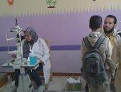 إستمرار قوافل العيون لطلاب المدارس بكوم امبو فى أسوان