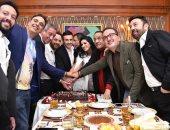 صابر الرباعى يحتفل بعيد ميلاده بحضور نجوم الغناء والمشاهير
