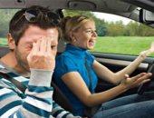 ما تخرجوش مع بعض.. أغلب المشاحنات الزوجية تتم فى السيارة