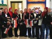 صور.. إقبال كثيف من المرأة المصرية فى انتخابات الخارج باليوم الأول
