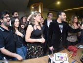 بالصور.. رامى صبرى يحتفل بعيد ميلاده الأربعين بحضور نجوم الفن
