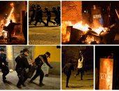 وفاة مهاجر يشعل مواجهات عنيفة مع الشرطة فى مدريد
