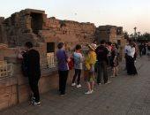 صور.. وفد من الحكومة الصينية يزور معابد مدينة الأقصر
