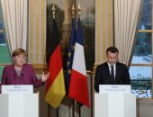 """صور.. ماكرون يدعو خارطة طريق """"واضحة وطموحة"""" لإصلاح الاتحاد الأوروبى"""