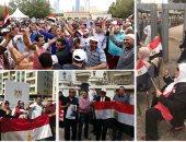 30 صورة تظهر إقبال المصريين على انتخابات الرئاسة فى الخارج