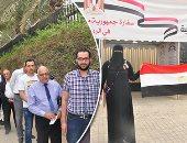طوابير المصريين أمام لجان الاقتراع فى السعودية والإمارات والبحرين