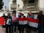 """فيديو..المصريون بالبحرين يدلون بأصواتهم علي أغنية """"قالوا ايه """""""
