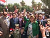 الجالية المصرية فى الكويت تجدد دعمها للرئيس السيسى لإحباط فتنة أهل الشر