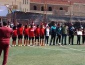 صور.. برلمانيون ومسئولون يشهدون انطلاق أول دورى كرة قدم نسائية بالشرقية