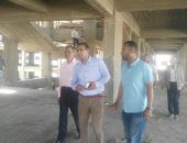 رئيس جامعة أسوان يتابع إستئناف العمل بالمشاريع المتوقفة