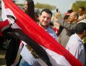 """مصريون بالكويت يدلون بأصواتهم بالانتخابات على أنغام """"قالوا أيه"""".. صور"""