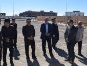 محافظ البحر الأحمر ورئيس جهاز الخدمة الوطنية يتفقدا أماكن المعرض الدائم