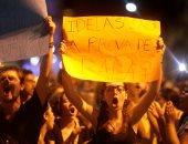 صور.. تواصل المظاهرات الحاشدة فى البرازيل احتجاجا على اغتيال سياسية بارزة