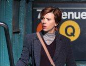 شاهد.. سكارليت جوهانسون فى شوارع بروكلين.. لم يتعرف عليها أحد