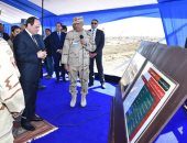 السيسى يستمع لشرح تفصيلى حول الموقف التنفيذى لميناء شرق بورسعيد (صور)