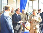 الرئيس السيسى يتفقد عددا من مشروعات شرق بورسعيد التنموية (صور)