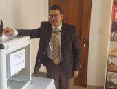 """صور.. توافد الجالية المصرية على سفارة """"توجو"""" للتصويت بانتخابات الرئاسة"""