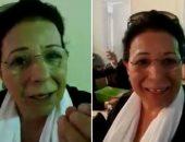 """كويتية من أمام سفارة مصر: """"أنا مصرية الهوى وأتمنى الانتخاب"""".. فيديو"""