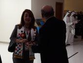غادة والى تحضر افتتاح دورة الألعاب الإقليمية للأولمبياد الخاص بأبو ظبى