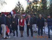 صور.. إقبال كبير على التصويت بالانتخابات الرئاسية فى كازاخستان وسط الثلوج
