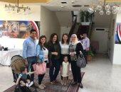 انتهاء التصويت فى عمان وسط إقبال كبير من المصريين باليوم الثانى