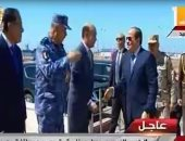 بدء فعاليات تفقد الرئيس عددا من المشروعات التنموية بشرق بورسعيد