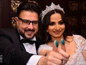 نجوم الفن والمشاهير يحتفلون بعقد قرآن كريم أبوزيد و ياسمين محسن