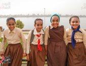 صورة اليوم.. فى بلدى البنات لما بتضحك بترقص قلوب