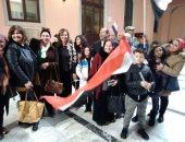 صور.. صوت مصر: إقبال حاشد للمصريين بإيطاليا على التصويت بالانتخابات الرئاسية