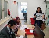 مصرية تقطع 200 كيلو بالنمسا للتصويت بالانتخابات.. وتؤكد:مصر أم الديمقراطية