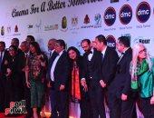 نجوم الفن فى افتتاح مهرجان الأقصر للسينما الأفريقية