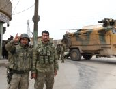 جنود أتراك يمنعون ضباطا إيطاليين من دخول مستشفى مصراته الليبية