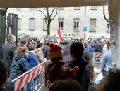 إقبال كثيف للمصريين فى ميلانو على التصويت بانتخابات الرئاسة