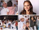 """السجينات يستقبلن نيللى كريم بالزغاريد فى احتفال """"سجن النساء"""" بعيد الأم"""