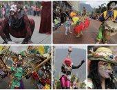 انطلاق أكبر مهرجان مسرحى فى شوارع كولومبيا