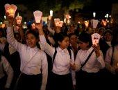 """صور.. إحياء الذكرى الـ38 لاغتيال رئيس الأساقفة """"روميرو"""" فى السلفادور"""