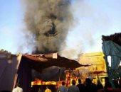 اندلاع حريق بسوق خضروات بمركز إدفو والحماية المدنية تدفع بـ3 سيارات إطفاء