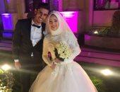 أحمد الشناوى يحتفل بزفافه وسط لاعبى بتروجت ودجلة