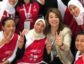 غادة والى: أثق فى قدرات أبطال مصر على تحقيق إنجاز كبير فى أولمبياد أبوظبى