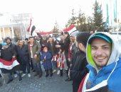 """المصريون بالخارج يواصلون توثيق مشاركتهم بالانتخابات عبر """"اليوم السابع"""""""