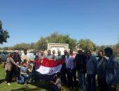 صور.. إقبال كبير من المصريين بمسقط على الانتخابات الرئاسية فى اليوم الثالث