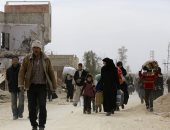 تقارير: أكثر من 120 ألفا خرجوا من الغوطة لمناطق الجيش السورى خلال 8 أيام