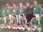 شاهد.. نجوم منتخب الفراعنة عام 1994