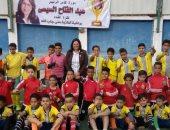 النائبة منى جاب الله تنظم احتفالية لتسليم كأس الرئيس السيسى بمنشية ناصر