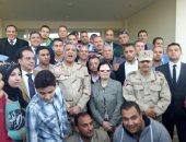 صور.. ائتلاف دعم مصر  بـ3 محافظات يزور المزرعة السمكية بغليون