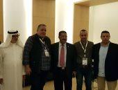 """صور .. """"الناشرين المصريين"""" يكرم القائمين على معرض الرياض للكتاب"""