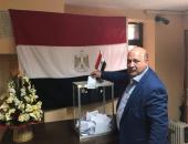 وفد رجال أعمال يدلى بصوته فى انتخابات الرئاسة بالسفارة المصرية بالرباط